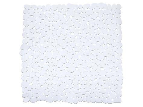 tapis salle de bain 54x54 cm paradise coloris blanc image