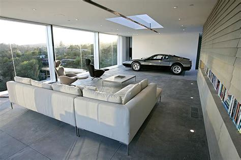 The Garage Of The Future A Living Room For Your Car? L