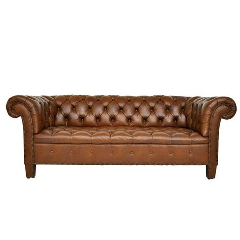 Baker Leather Sofa by Brown Leather Chesterfield Sofa Baker