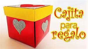 Caja para regalos de San Valentin Manualidades para todos YouTube