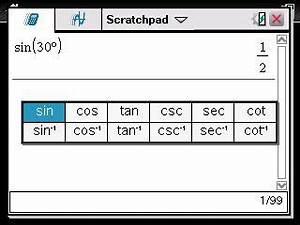 Winkelfunktion Berechnen : sinus kosinus oder tangens eines winkels berechnen erste schritte ti nspire trigonometrie ~ Themetempest.com Abrechnung