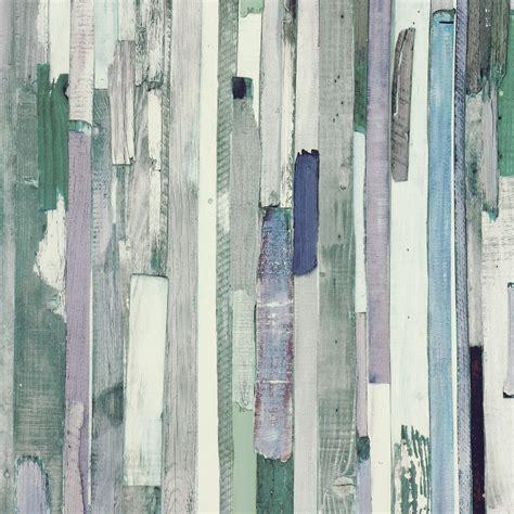 Tapete Holzoptik Flieder Grün Tapeten Rasch Textil New Age