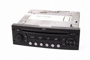 Cd Autoradio Peugeot 207 Rd4 N2 Mp3 Player Radio 96633422