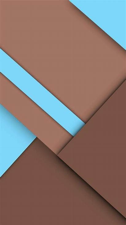 Brown Geometry Graphics Android Iphone Wallpapers