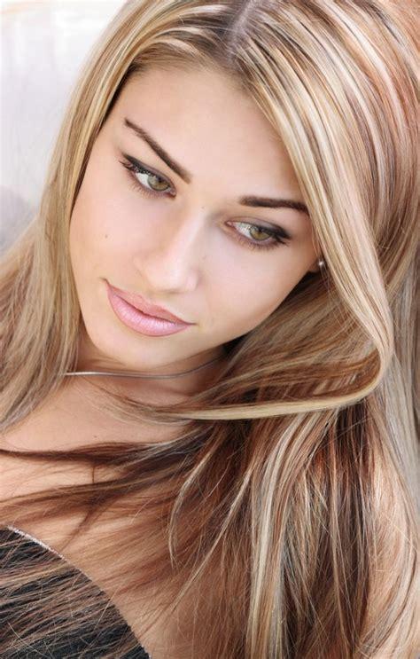 light brown hair color  blonde highlights atbreonna