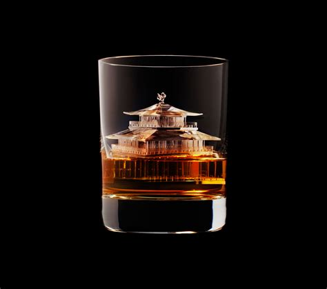 suntory whisky carved  worlds  incredible ice