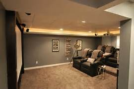 Basement Design Ideas Designing Any Room Can Be Tough But Captivating Basement Decorating Ideas Which Is Equipped With Leather