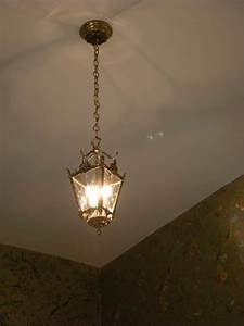 How To Hang A Vintage Light Fixture