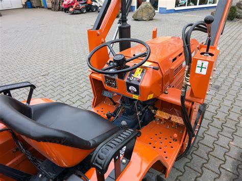 traktor mit frontlader kaufen kubota traktor gebraucht mit frontlader b 1500 kommunaltraktoren kleintraktoren