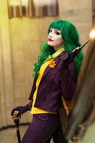 Female Joker Cosplay Costume