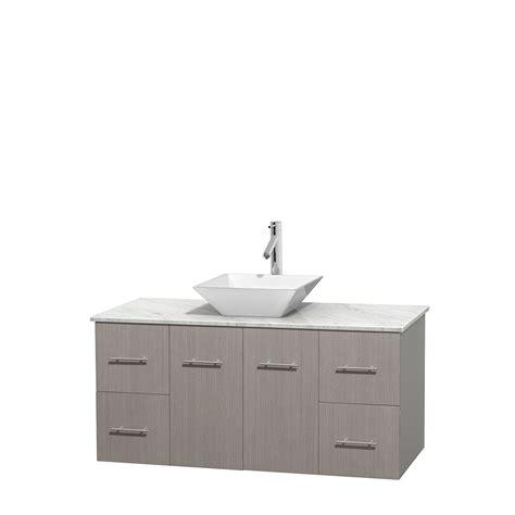 48 inch sink vanity white wyndham collection wcvw00948sgocmd2wmxx centra 48 inch