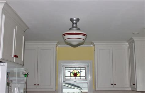 schoolhouse pendant lighting kitchen schoolhouse pendants crowning touch in tudor kitchen 5085
