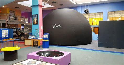 scitech museum  aurora unveils portable planetarium