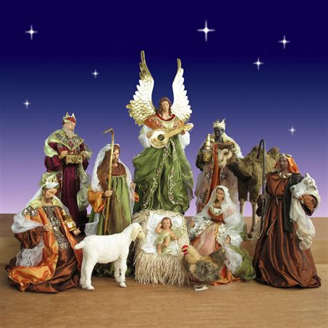 12 piece church nativity set 42 inch scale