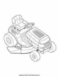 Troy Bilt 13wn77ks011 Pony  2012  Parts Diagram For  Quick