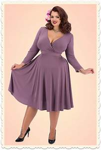 robe vintage grande taille miss retro chic With robe longue grande taille pour mariage