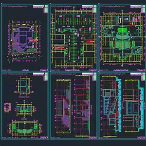 Auditorum Architecture Design Samples Autocad Drawings