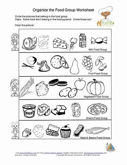 Worksheets Nutrition Groups Worksheet Kindergarten Pyramid Learning