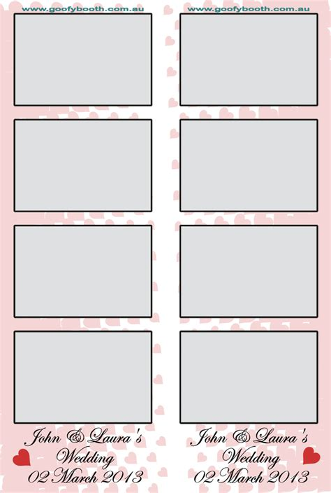 sample photo strips goofy booth photo booth hire