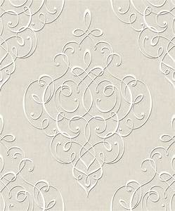 Tapete Ornamente Silber : hidden richness 227332 tapete vlies barock ornament grau beige silber gl nzend ebay ~ Sanjose-hotels-ca.com Haus und Dekorationen