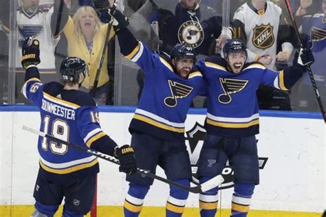 nhl playoffs  tv schedule  time channel  blues
