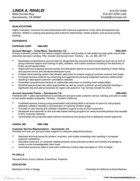 Linear Executive Format Resume Exle by Executive Classic Format Resume Resume Resume Exles