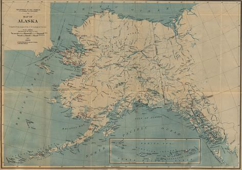 alaska maps perry castaneda map collection ut library