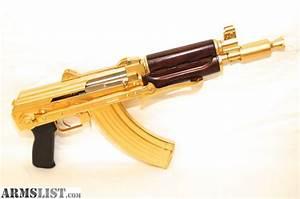ARMSLIST - For Sale: 24kt Gold Plated AK Pistol AK-47