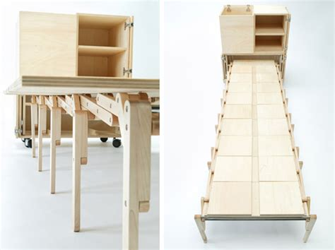 Space Saver Desk Bed by 行動式伸縮摺疊餐桌 Decomyplace 新聞