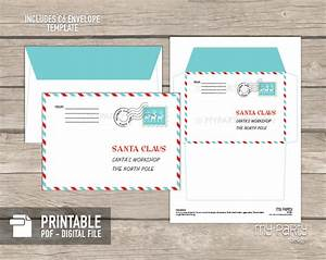 printable letter to santa kit with envelope template my With santa claus letter kit