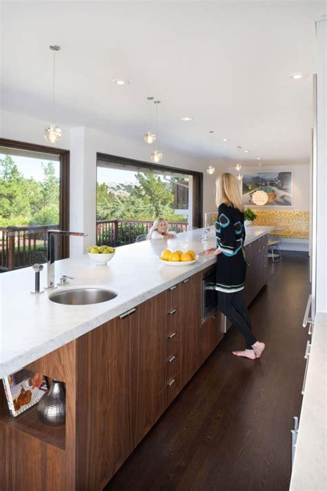 remodeled kitchen  breezy interiors light   moraga residence