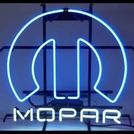 HossRods Mopar Neon Sign