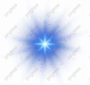 Transparent blue vector light effect point light material ...