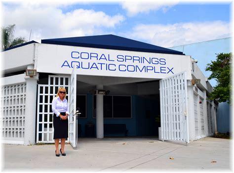 coral springs aquatic complex