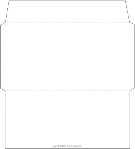 moldes de sobres para imprimir imagui