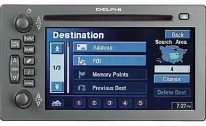 Delphi Tnr800 In Gps Navigation System For