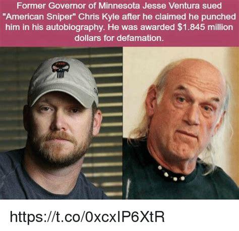 Jesse Ventura Meme - former governor of minnesota jesse ventura sued american sniper chris kyle after he claimed he