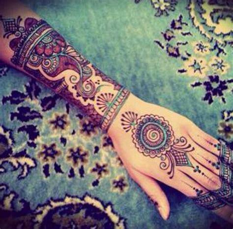 beautifully designed bohemian  sleeve tattoo