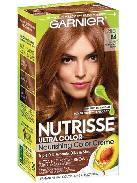 nutrisse ultra color caramel chocolate hair color garnier