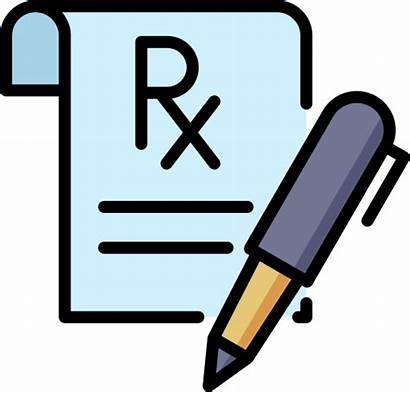 Prescription Order Place Icon Rx Icons Mail