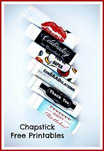 printable chapstick labels With chapstick stickers