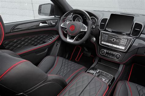 Mercedes Gle Coupe Interior Package By Topcar