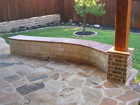 Retaining Wall With Bench  12' White Austin Chopped Stone. Flagstone Patio How To Lay. Patio Builders Boise. Patio Installation Allentown Pa. Patio And Outdoor. Patio Furniture Cushions 18 X 18. Patio Chairs Modern. Patio Furniture Walmart. Install Patio Dog Door