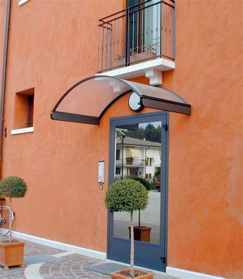 tettoia in ferro e policarbonato pensiline in vetro e acciaio capottine in alluminio e
