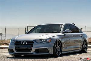 "Audi A6 ACE Flowform AFF01 20"" Mica Gray w Brushed Face ACE"