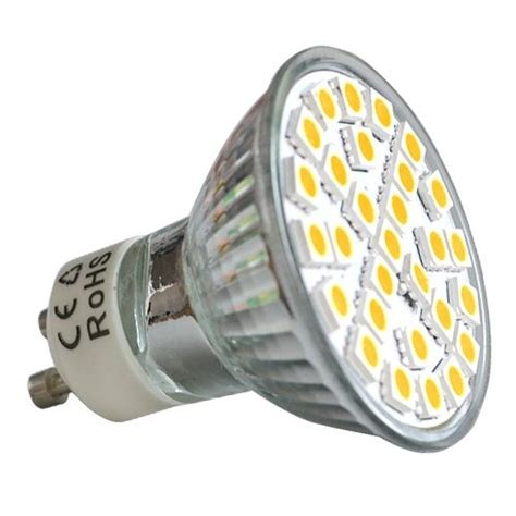 12 pack x gu10 warm white led bulbs 6 5w smd5050 yellow