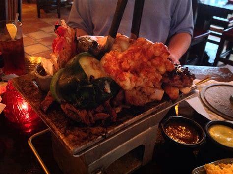 combo fajitas  filet chicken shrimp lobster