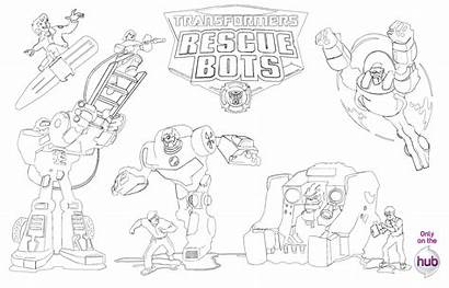 Bots Rescue Ausmalbilder Coloring Getdrawings Bot Chase