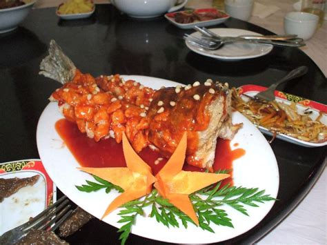cuisine chinoise poisson photo cuisine chinoise le poisson photos chine