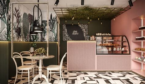 Bakery shop in Vilnius on Behance